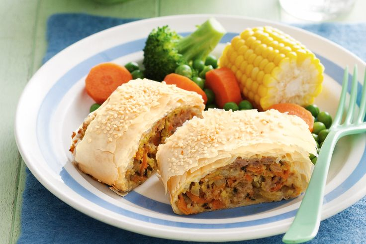 Healthy sounding sausage rolls