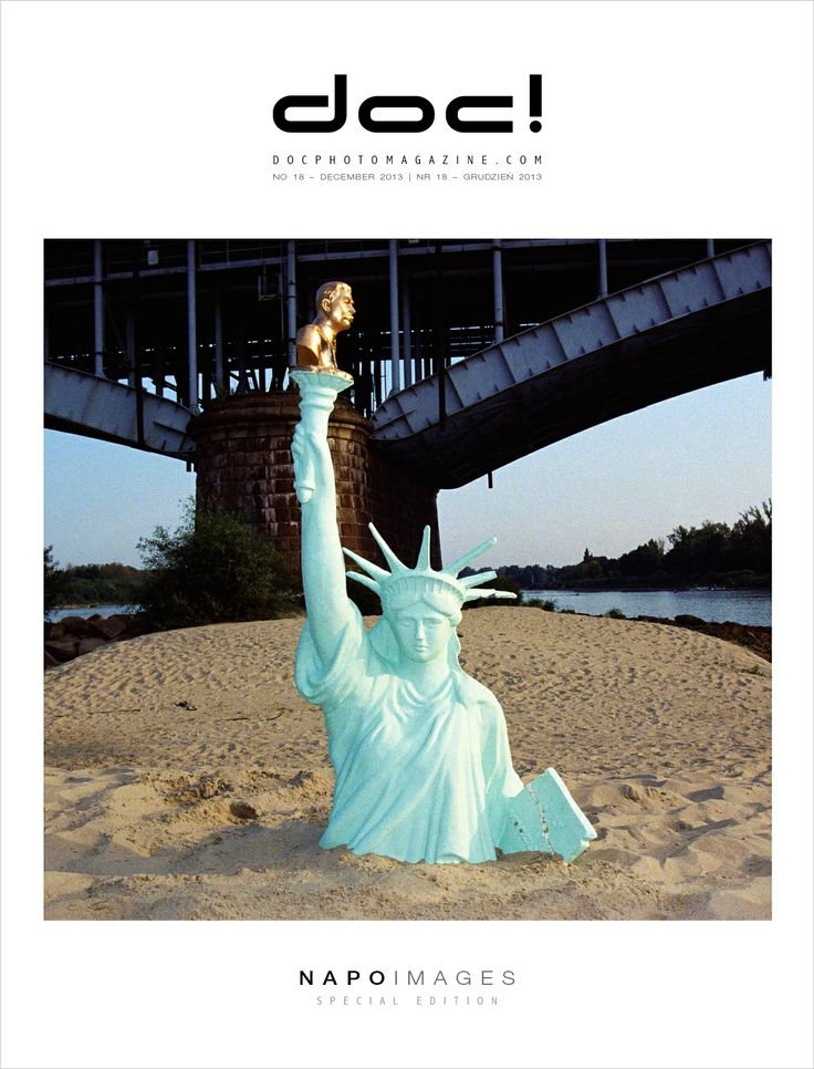 Cover of doc! photo magazine #18 Cover photo: Ewa Meissner