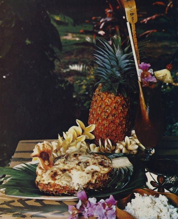 Image result for Pineapple Chicken 1970s