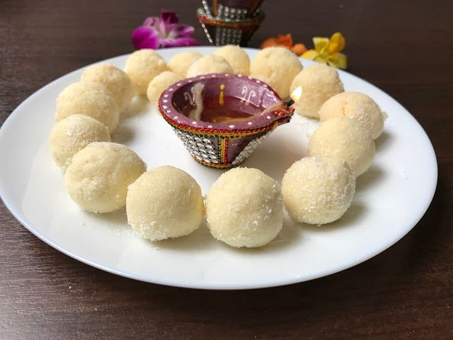 How to make coconut ladoo      I always drooled on these white ,soft coconut ladoos ,but never ...