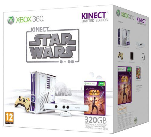 Xbox 360 320GB Star Wars Kinect Console with Kinect Star Wars - Limited Edition (Xbox 360) Reviews - http://www.cheaptohome.co.uk/xbox-360-320gb-star-wars-kinect-console-with-kinect-star-wars-limited-edition-xbox-360-reviews/