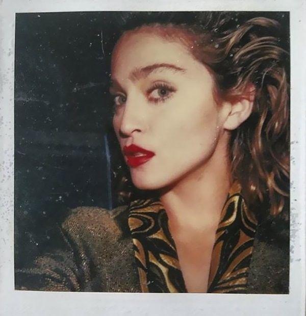 #madonna #selfie #polaroid #history