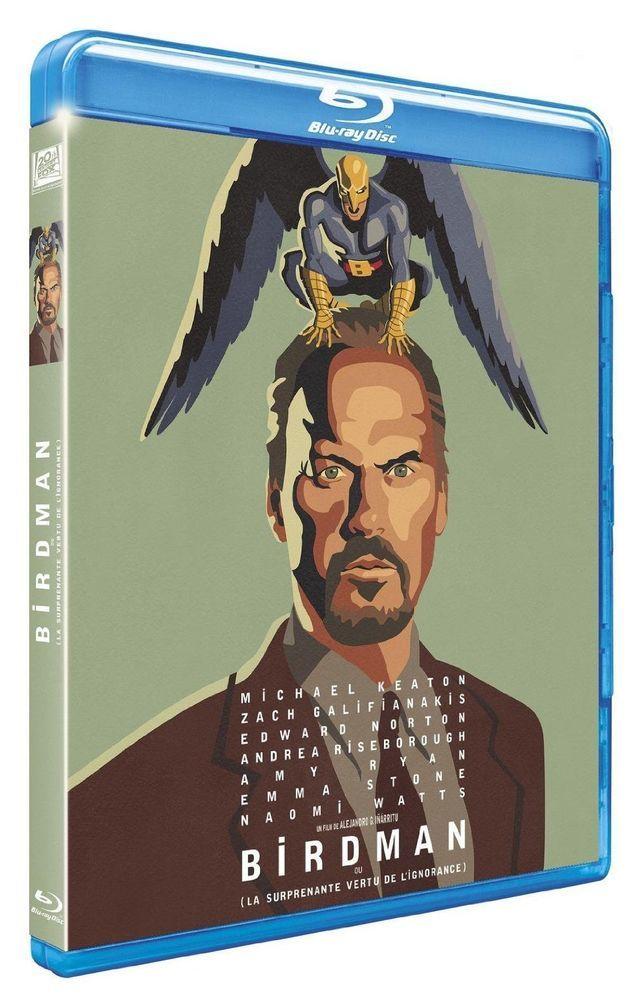 Birdman (4 Oscars 2015) avec Michael Keaton  - BLU-RAY