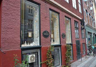 Milas Jewellery in the heart of Copenhagen