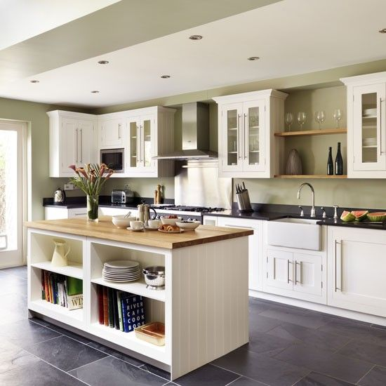 Shaker-style kitchen island | Kitchen islands | housetohome.co.uk