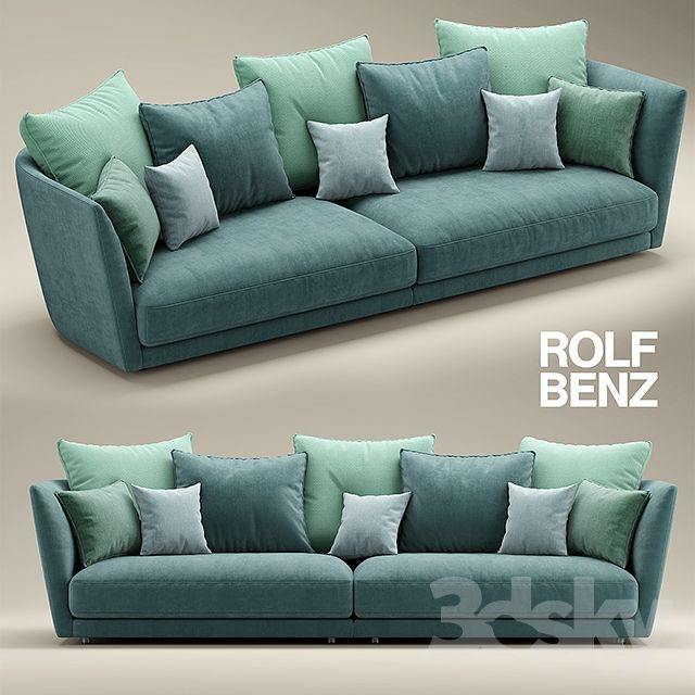 218 best rolf benz images on pinterest for Couch rolf benz