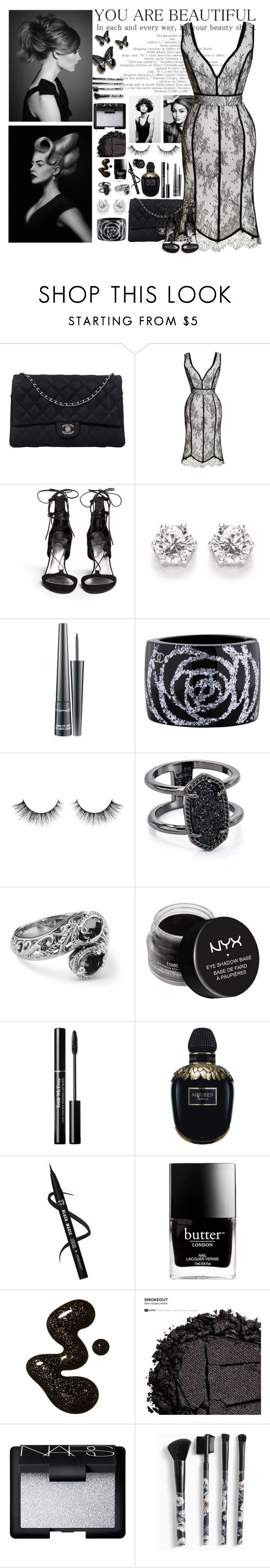 """""""Engagement 💍"""" by yuliabaylor ❤ liked on Polyvore featuring Angelo, Chanel, Natasha Zinko, Stuart Weitzman, MAC Cosmetics, Kendra Scott, NYX, Alexander McQueen, Butter London and Urban Decay"""