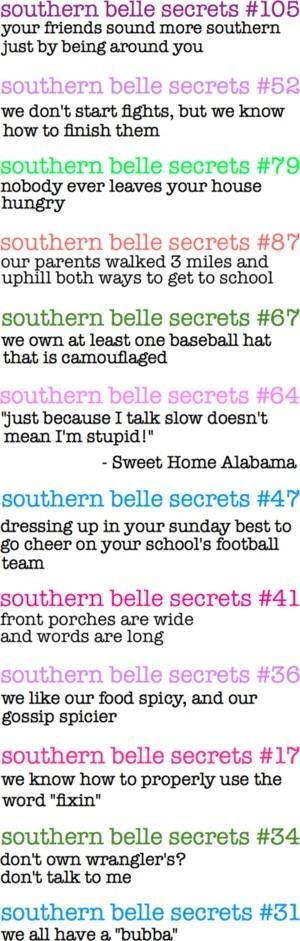 """Southern Belle Secrets"" by lourdes"