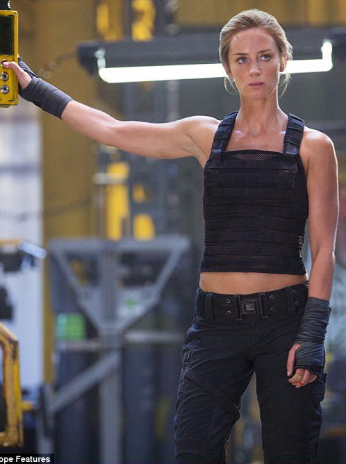 Fitness Inspiration...Emily Blunt - Edge of Tomorrow