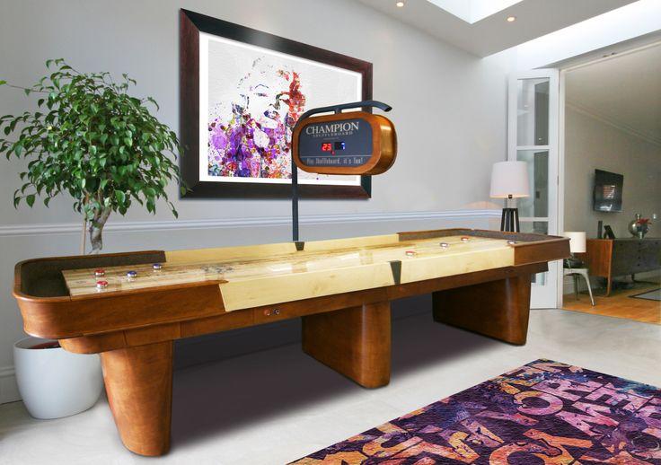 Capri Shuffleboard Table