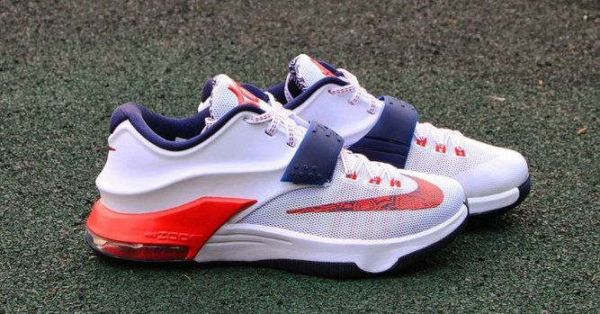 a727b43091c0 Nike KD 7 VII Independence Day White Obsidian University 653996 146 ...