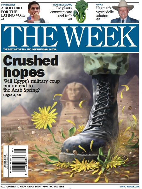 Crushed hopes: June 29, 2012: International Media, June 29, Official Site, Week Magazines, Politics Cartoon, Covers Art, Daily Coverage, Crushes Hope