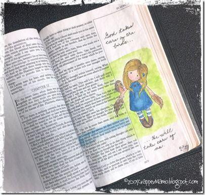 Bible Art-Luke 12-24-He Will Take Care of Me