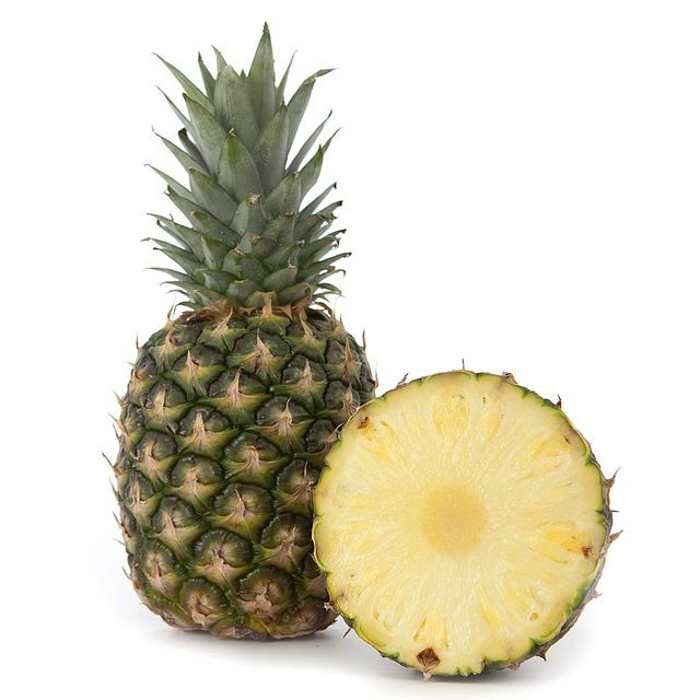 Pineapples are loaded with vitamins and minerals including vitamin A, vitamin C, calcium, phosphorus, and potassium. It is also rich in fiber and calories. On top of it all, this fruit is low in fat and cholesterol. All the nutrients it contains promote good health.