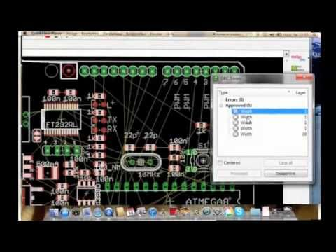 EAGLE overview PCB simulation