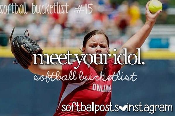 Softball Bucket List Did that already!!