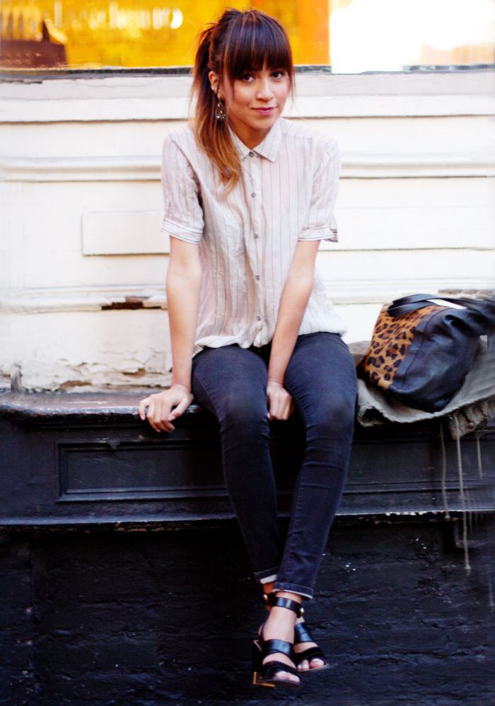 I'm not sure what I like about this, but I like it.Bangs Back, Style Inspiration, Street Style, Tomboys Style, Bangs Bangs, Perfect Bangs, Classic Style, Tomboy Style, Daily Style