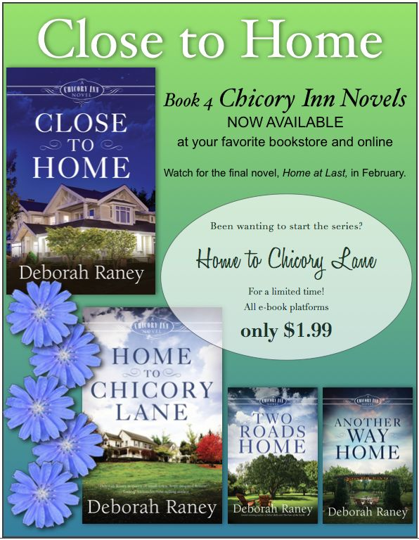 Been wanting to try the Chicory Inn Novels? The first book is only $1.99 for a limited time! https://www.amazon.com/Home-Chicory-Lane-Novel-Book-ebook/dp/B01ES91MWS?ie=UTF8&tag=rdtyc-20
