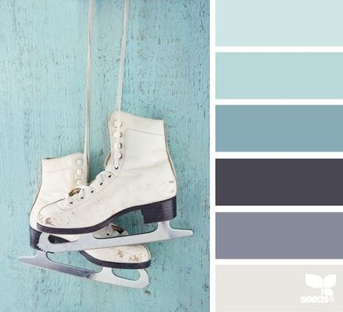 Best 25 greyish blue ideas on pinterest paint colours - Blue and gray color scheme ...