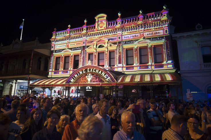White Night Ballarat 'Nights of Gold Poets Corner' credit - SDP Media