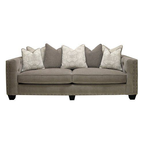 Traditional Gray Sofa - Caprice