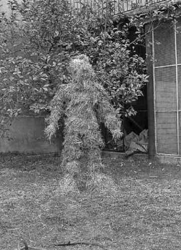"""minamata: """" - MIRALLES Fina, Relacions. relacions del cos amb elements naturals: cobriment del cos amb palla, 1975. Fina Miralles (1950 Spain) studied in Barcelona from 1968 to 1972. Today, she lives..."""