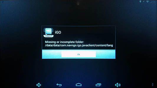 Missing or incomplete folder:/data/data/com navngo igo javaclient