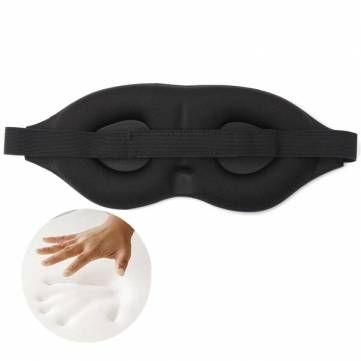 Viaje 3os olhos arregalados de esponja de sombra de olho de sono de memória dormindo a máscara de olho
