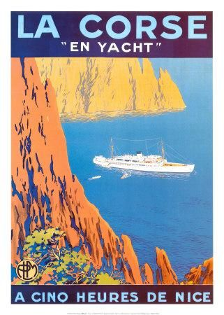 In southern Corsica, between Bonifacio and Sartene, the Murtoli Estate offers its guests a magical environment in between sea and mountains…    #old #poster #ancien #tourisme  #paca #corse