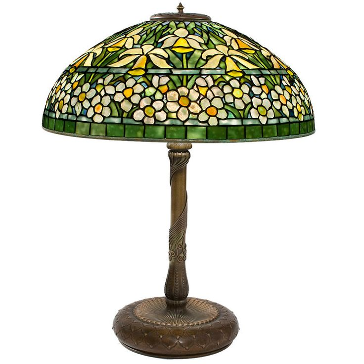 "Tiffany Studios New York ""Jonquil-Daffodil"" Tiffany Lamp 