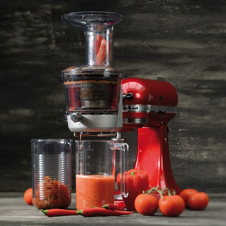 For all Stand Mixer owners who want to get on that Summer feeling,  we have the perfect attachment! The Maximum Extraction Juicer Attachment! With 3 screens, you can prepare your juices in advance and enjoy the fruits (and vegetables!) of your labour! With the option of high pulp or low pulp as well as creating sauces, this attachment is the answer to capturing Summer in your kitchen! Much love KitchenAid Africa xx