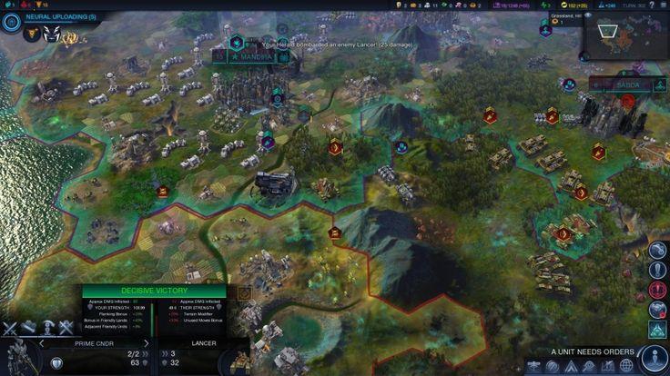 Recomendacion Gamer: Civilization Beyond Earth , construye tu imperio espacial