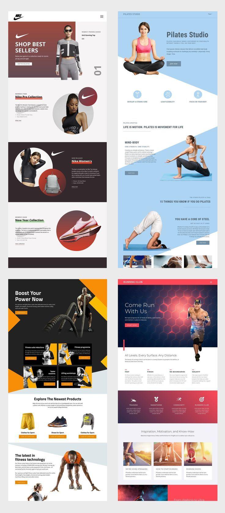 Free Templates By Nicepage Builder In 2020 Diy Website Design Website Design Layout Web Design