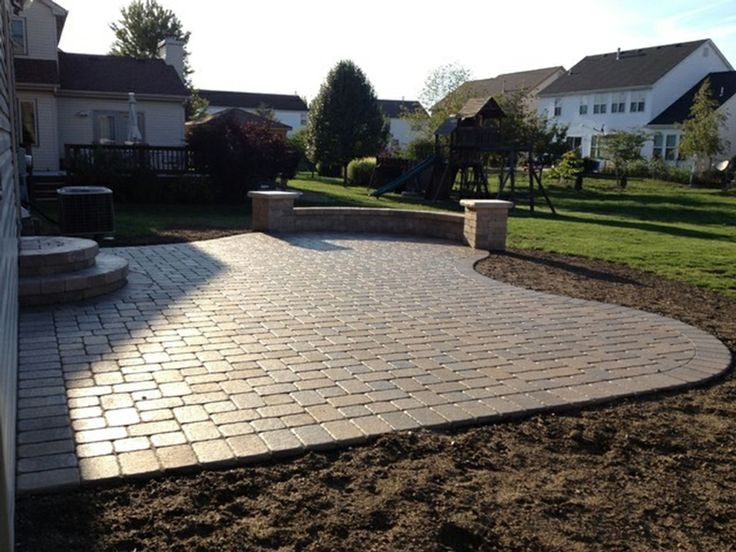 47 best back garden - layout images on pinterest | backyard ideas ... - Patio Shape Ideas