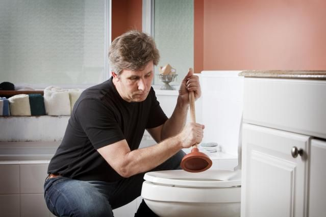 A clogged toilet is a very common plumbing problem. Follow these steps to learn how to unclog a toilet with a plunger.
