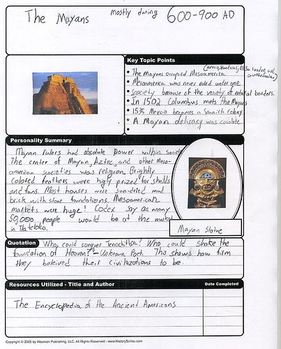History Teaching Institute: Notebooking Images On Pinterest