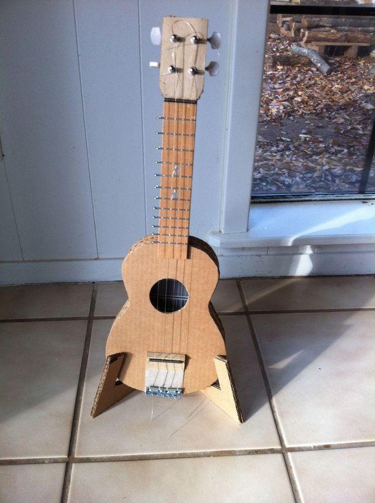 Diy Guitar Cardboard Electric