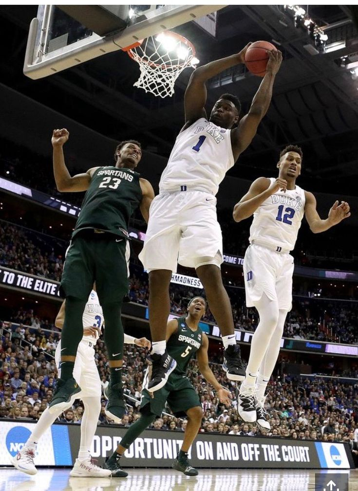 Zion Williamson and Javin DeLaurier Nba draft, New