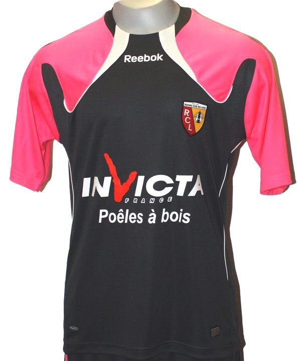 Maillots RC Lens 2010-2011
