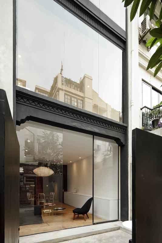 the split house | Shanghai China | neri & hu design