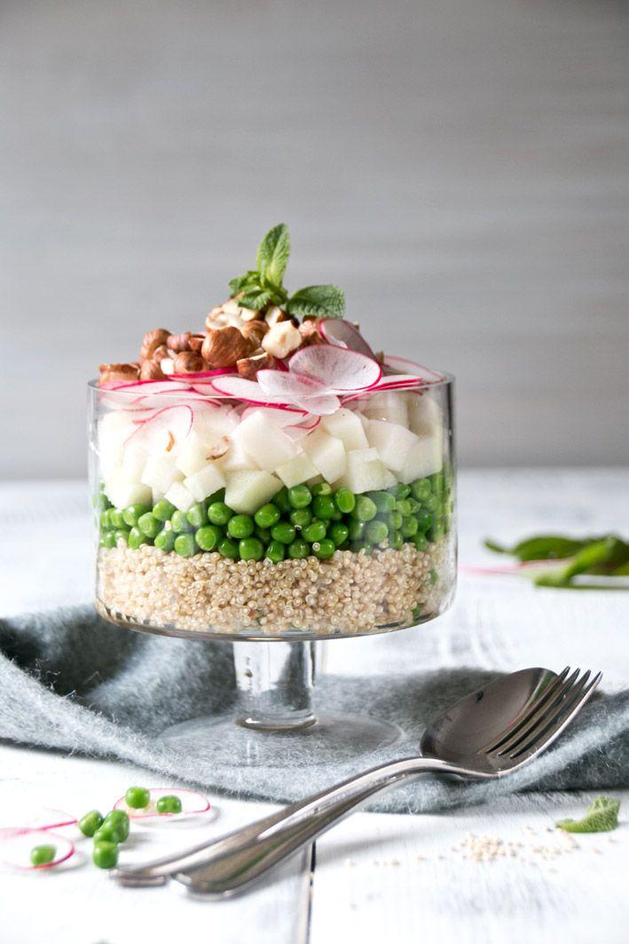 quinoa schichtsalat