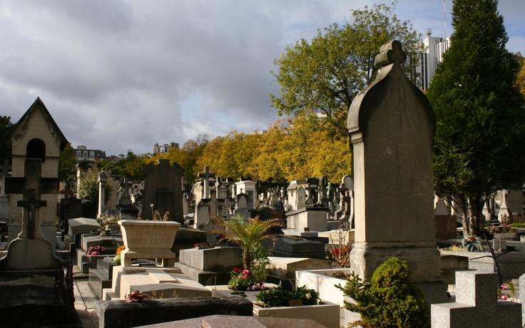 Vista general de Cementerio en Paris
