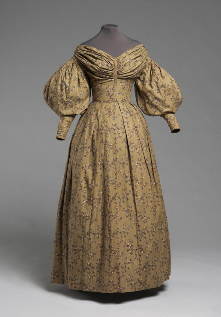 Philadelphia Museum of Art - Collections Object : Woman's Dress, c. 1832