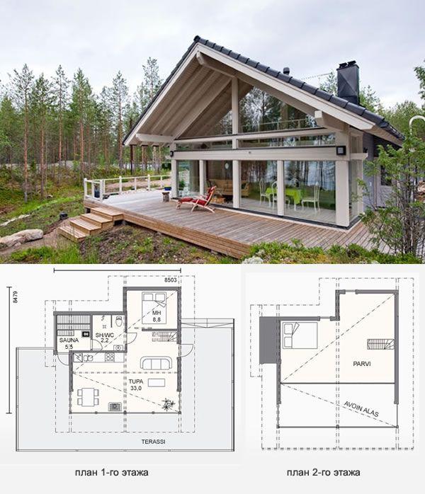 Проекты финских домов из бруса (49 фото): от мечты до реальности очень близко http://happymodern.ru/proekty-finskix-domov-iz-brusa-49-foto-ot-mechty-do-realnosti-ochen-blizko/ Проект финского дома из бруса №3