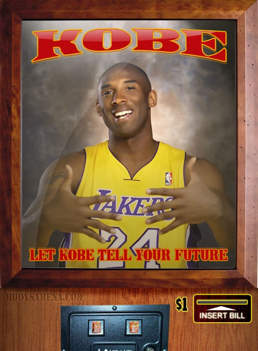 Kobe now a fortune teller!    http://rudysarena.com/290-good-news-bad-news-for-la-lakers-fortune-by-kobe-bryant.html