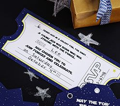 Download Invitation for your Star Wars™ themed party!!!