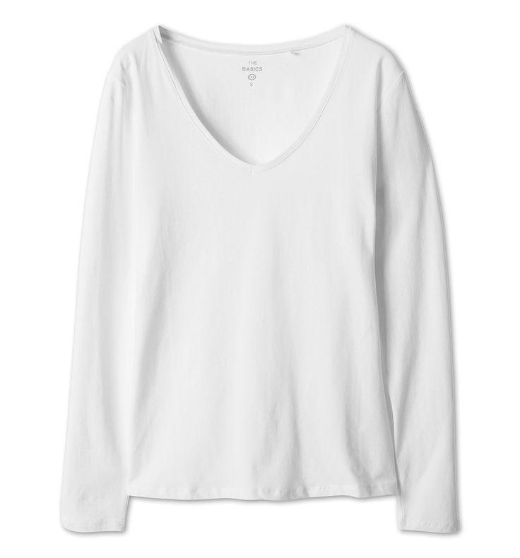 Sklep internetowy C&A | Długi rękaw, kolor:  biały | Dobra jakość w niskiej cenie