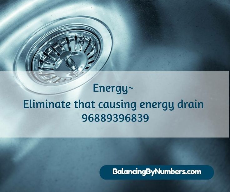 Prevent energy drain