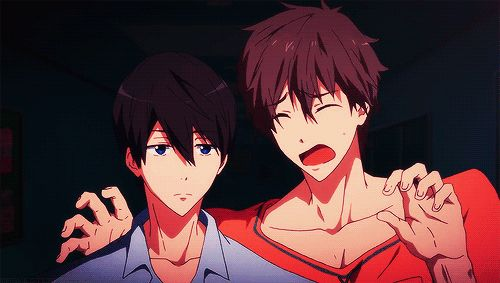 Free! Eternal Summer -Haruka and Makoto, AWWWW JUST LIKE THE FIRST EPISODE IN THE FIRST SEASON