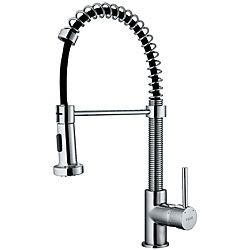 Vigo Modern Pull-out Spiral Kitchen Faucet